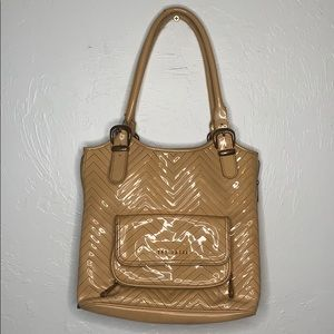 Ted Baker patent leather shopper